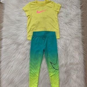 Nike clothes mix and match set for toddlers girls
